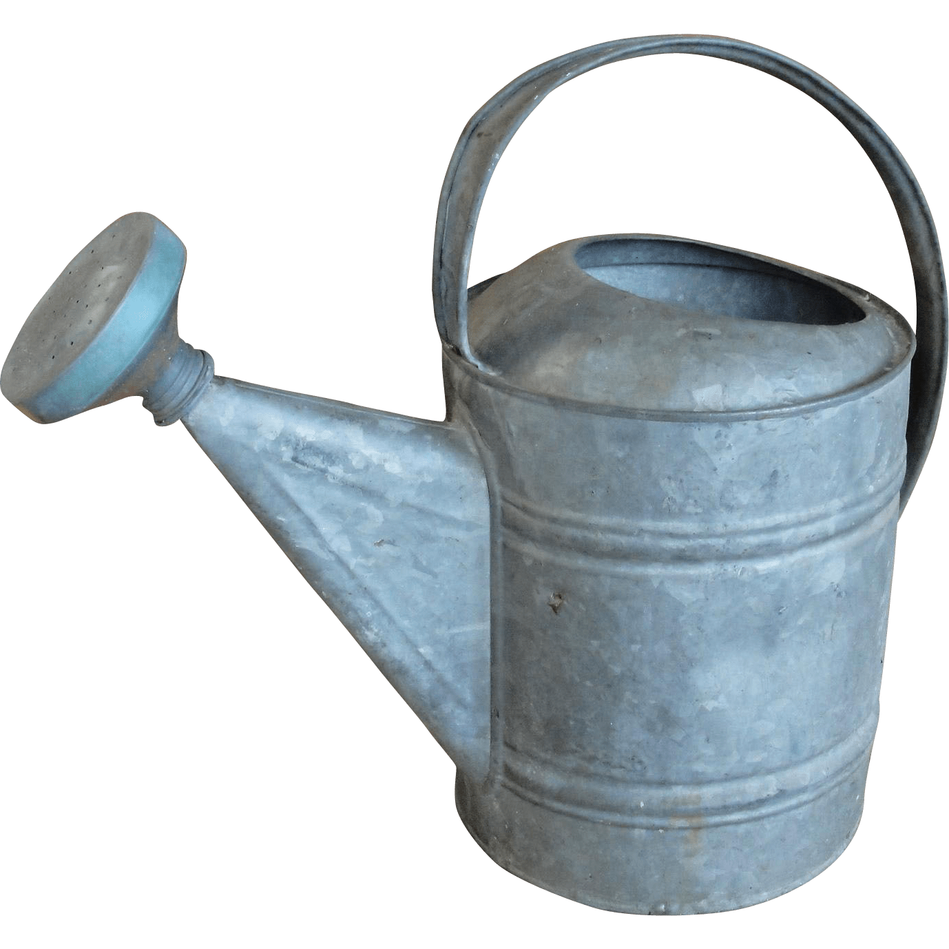 Galvanized Watering Cans Vintage Galvanized Metal Garden Watering Sprinkling Can