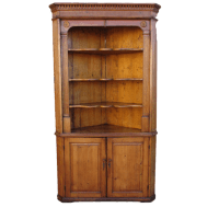 Antique Pine Corner Cabinet Hutch Antique Furniture SOLD ...