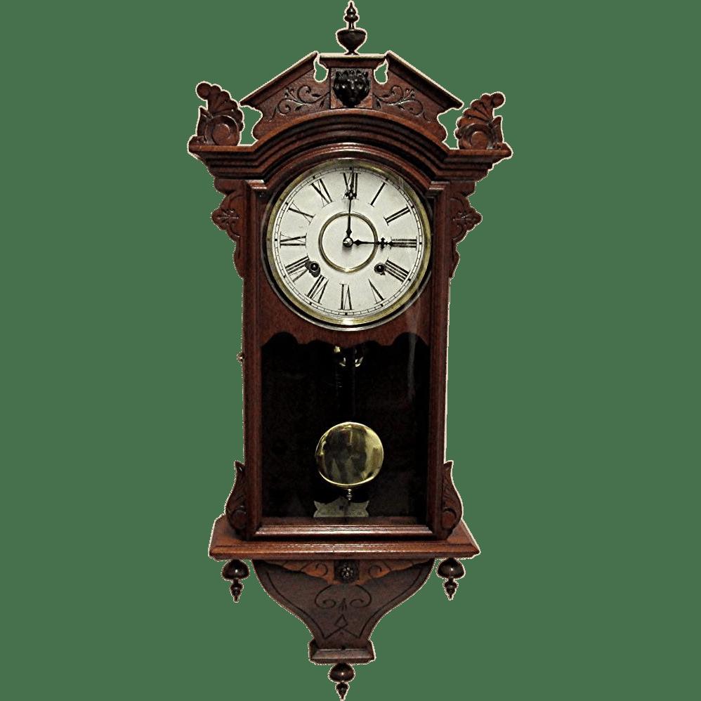 Waterbury Antique Wall Clock 100% Original and Fully
