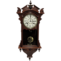Waterbury Antique Wall Clock 100% Original and Fully ...