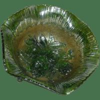 Imperial, Large, Green, Lustre Rose, Carnival Glass Fruit ...
