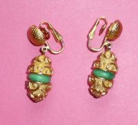 Beautiful Trifari Clip Earrings from phalan on Ruby Lane