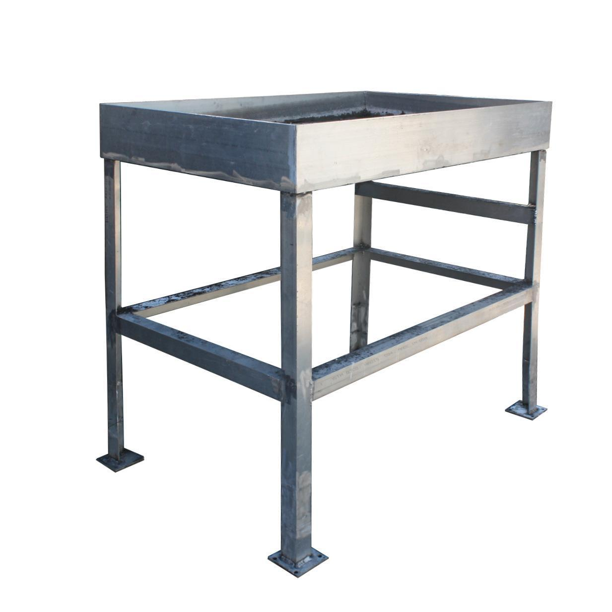 Industrial Work Table 25x40 Reclaimed Industrial Work Table Colonial Bread From