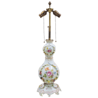 Antique Carl Thieme Dresden Lamp - Bailey, Banks and ...