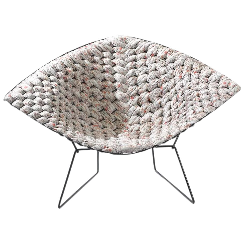 Chaise Diamond Bertoia Original Bertoia Diamond Chair Revisited By Clement Brazille