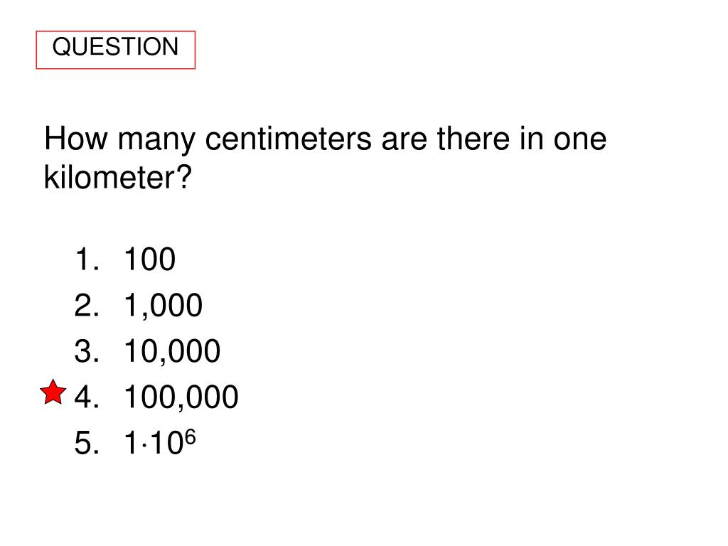 10 In Cm Ppt How Many Centimeters Are There In One Kilometer Powerpoint