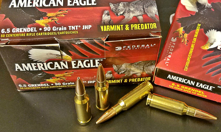 New From Federal American Eagle 68 SPC and 65 Grendel Varmint