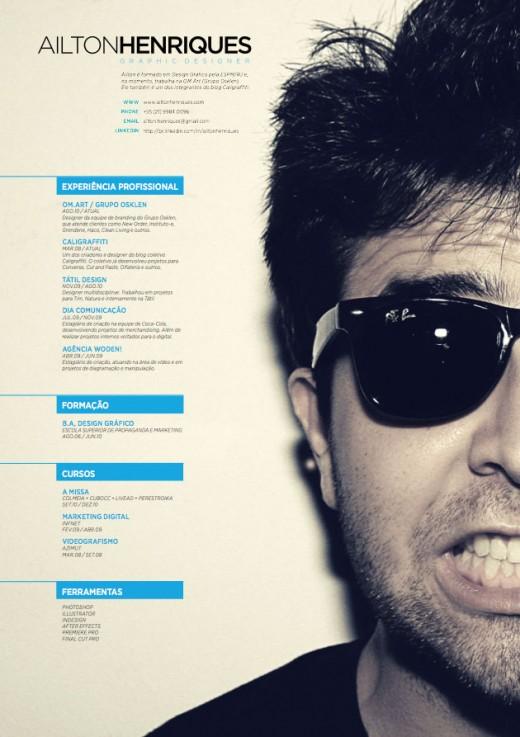 Design Inspiration The Art of the Résumé - resume design inspiration