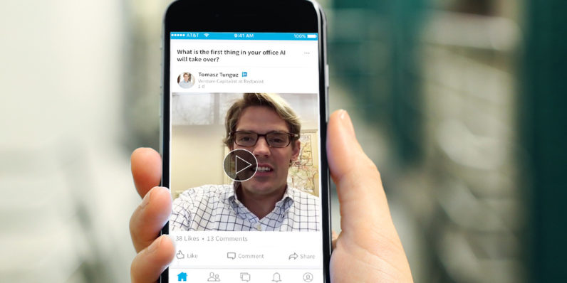 LinkedIn introduces QA videos from influencers into your feed