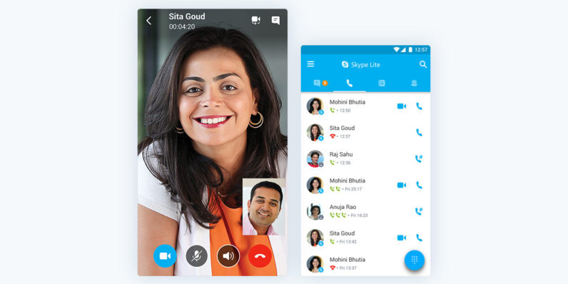 Microsoft announces Skype Lite for low connectivity areas, launching