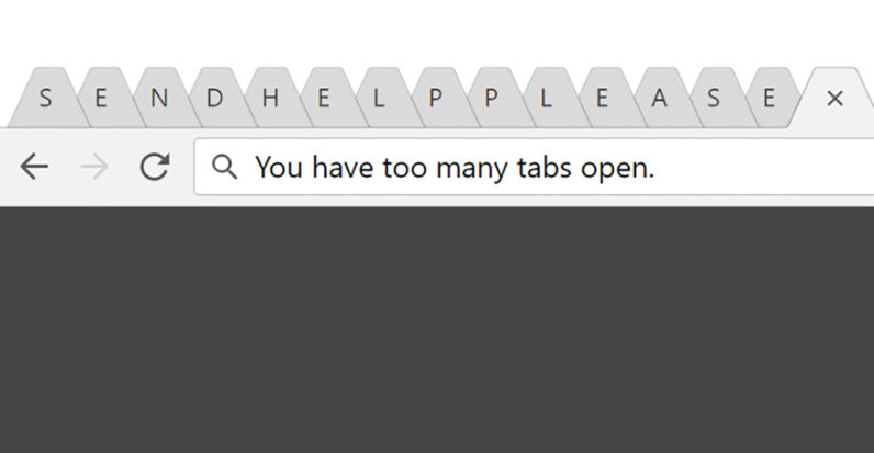 Abandoning browser tabs is the best choice I\u0027ve made for my productivity
