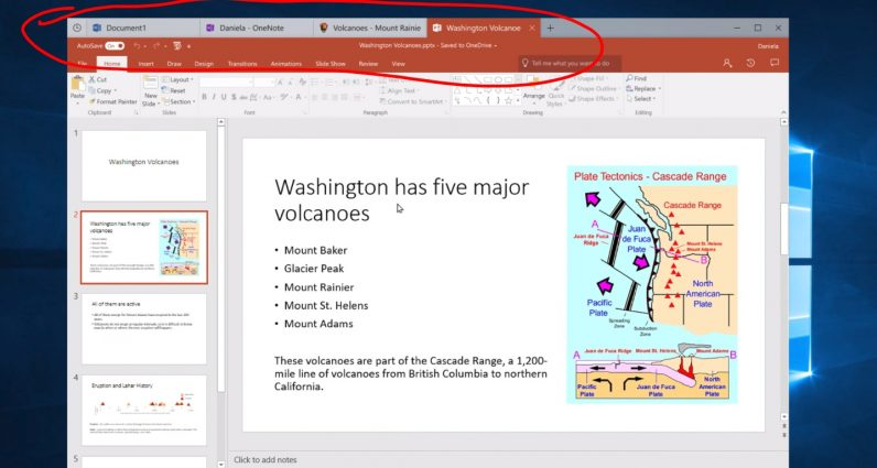 Microsoft plans to give every Windows app browser-like tabs, and I