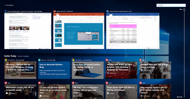 Windows 10 is getting a big update on April 30 Here\u0027s what you need - timeline windows