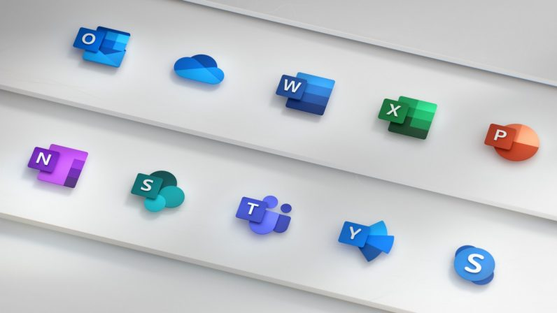 Microsoft\u0027s new Office logos are a beautiful glimpse of the future