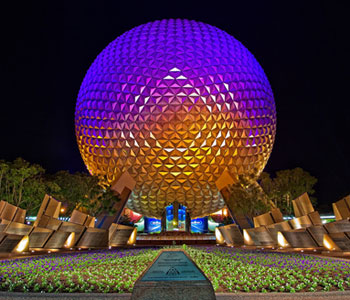 Fall Widescreen Wallpaper Epcot Disney World Touring Plans Crowd Calendar