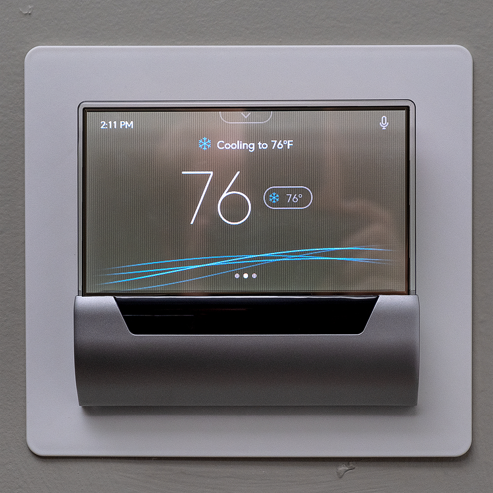 Display Glas Glas Smart Thermostat Review Not As Smart As It Looks The Verge