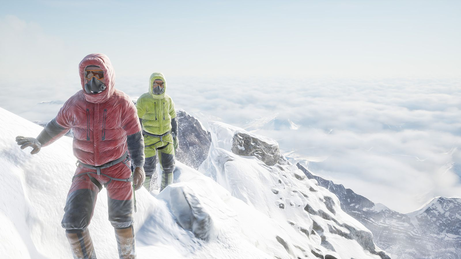 Ice Fall Wallpaper Everest Vr Is Not Like Climbing A Mountain And It Shouldn