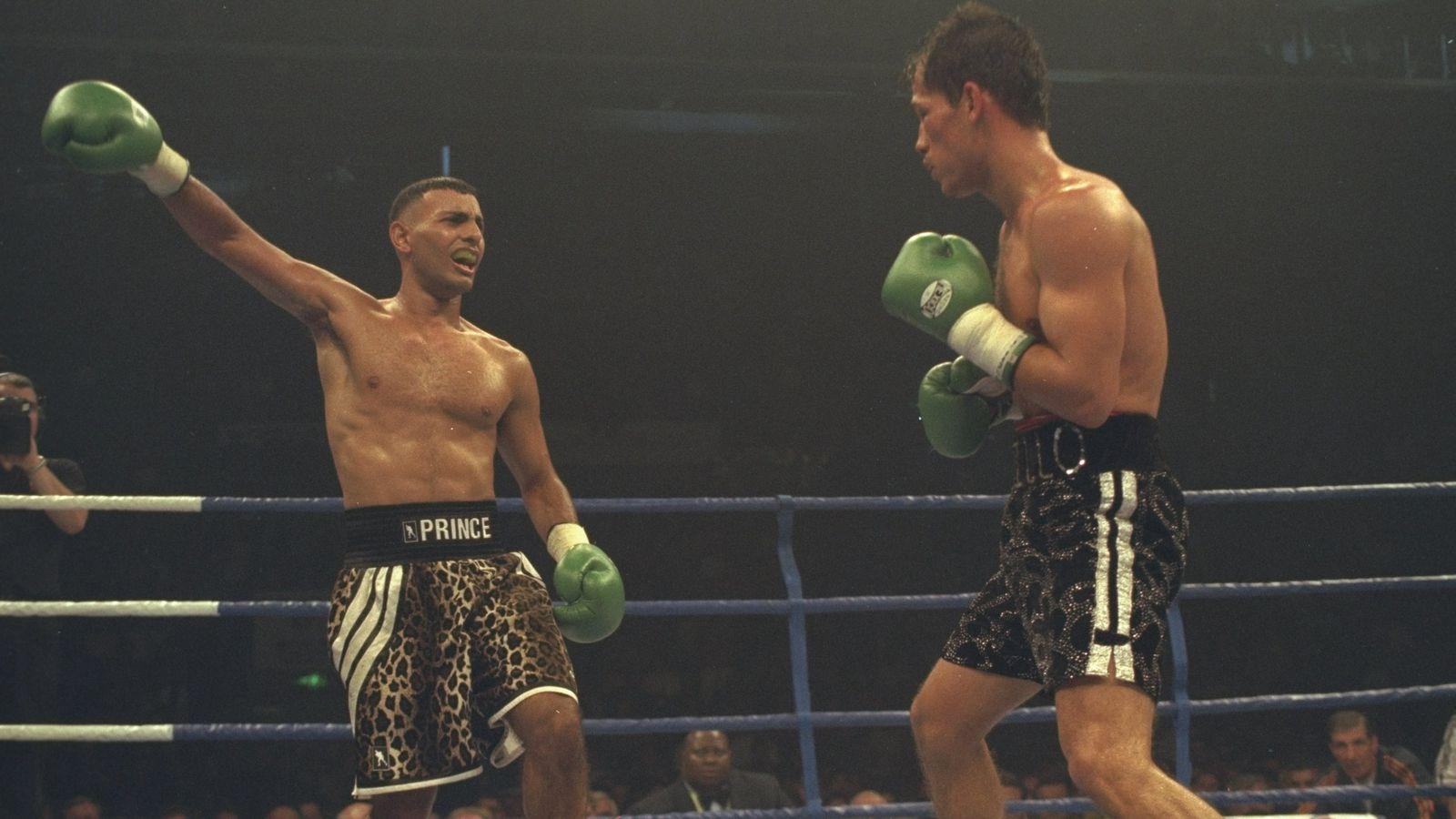 Boxing Ring Wallpaper Hd Naseem Hamed Ray Mancini Riddick Bowe Headline 2015 Hall