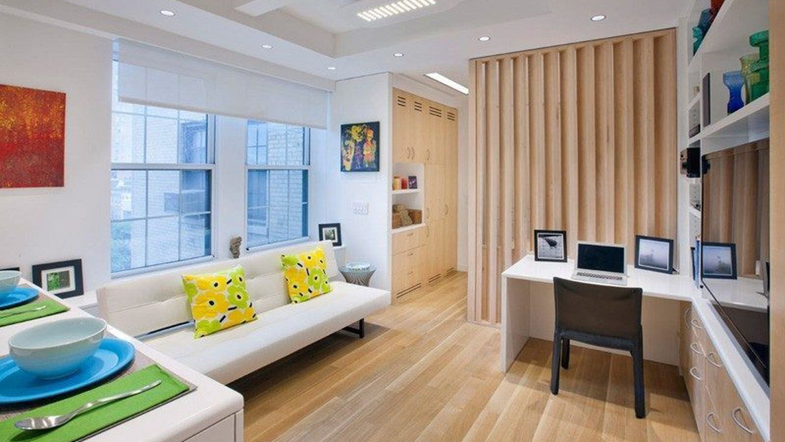 Apt Designs How To Fit 5 Rooms In A 340 Square Foot Nyc Apartment
