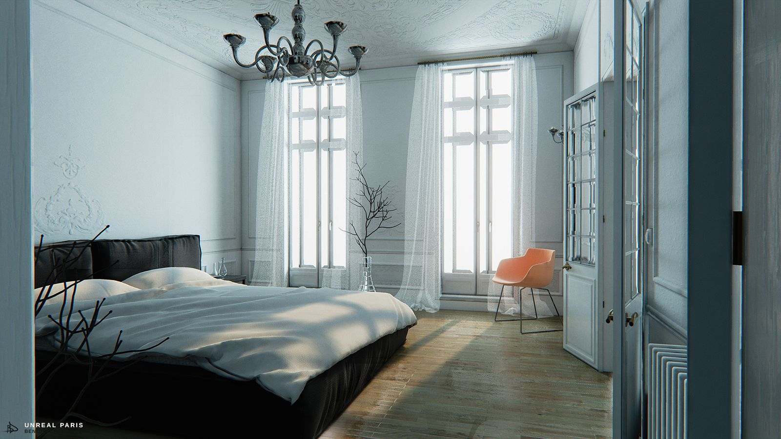 Fall Textures Wallpaper This Paris Apartment Is A Better Unreal 4 Demo Than Epic S