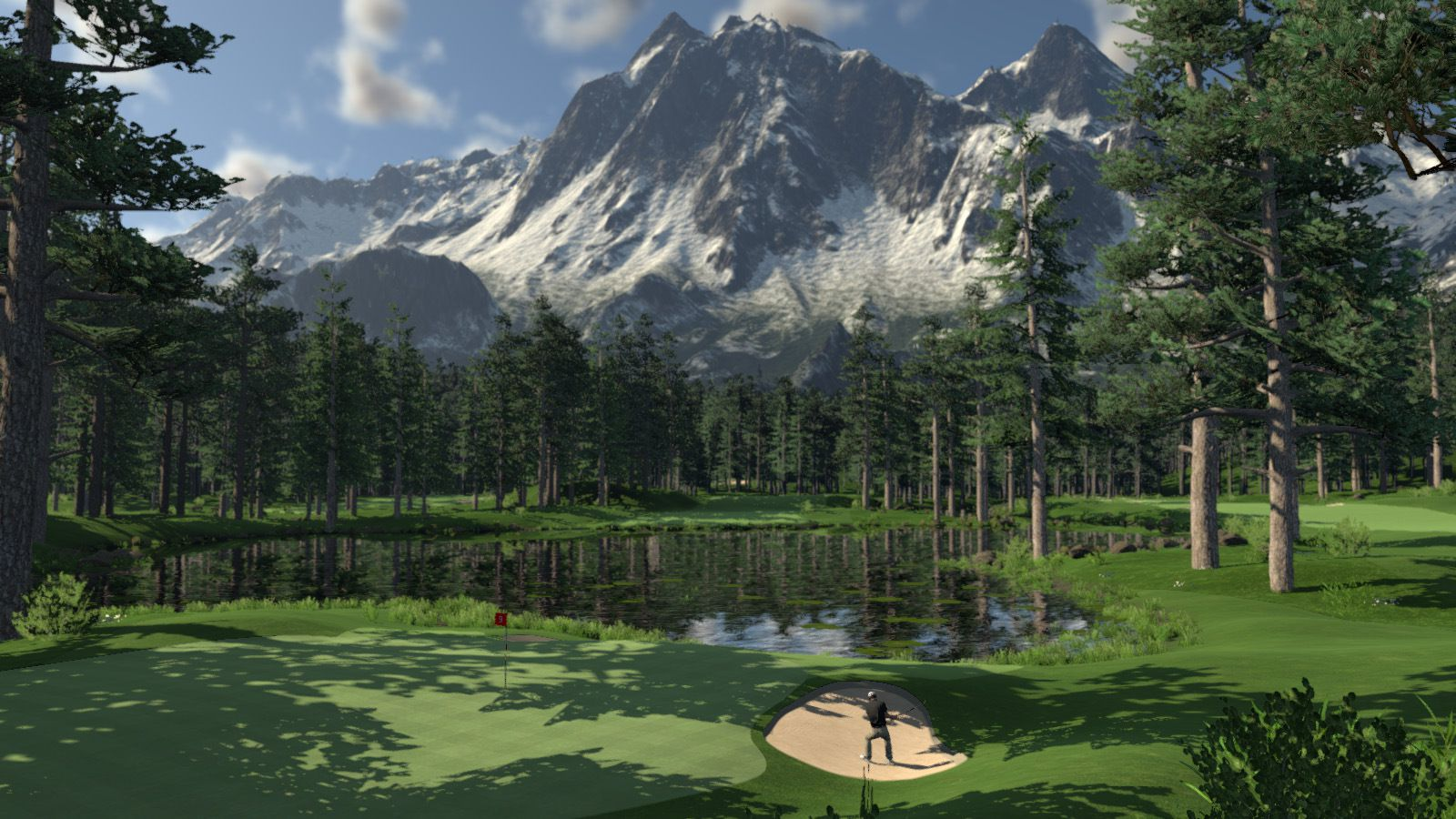 Screen Scratch Wallpaper Hd Golf Sim The Golf Club Coming In Spring 2014 To Ps4 Xbox