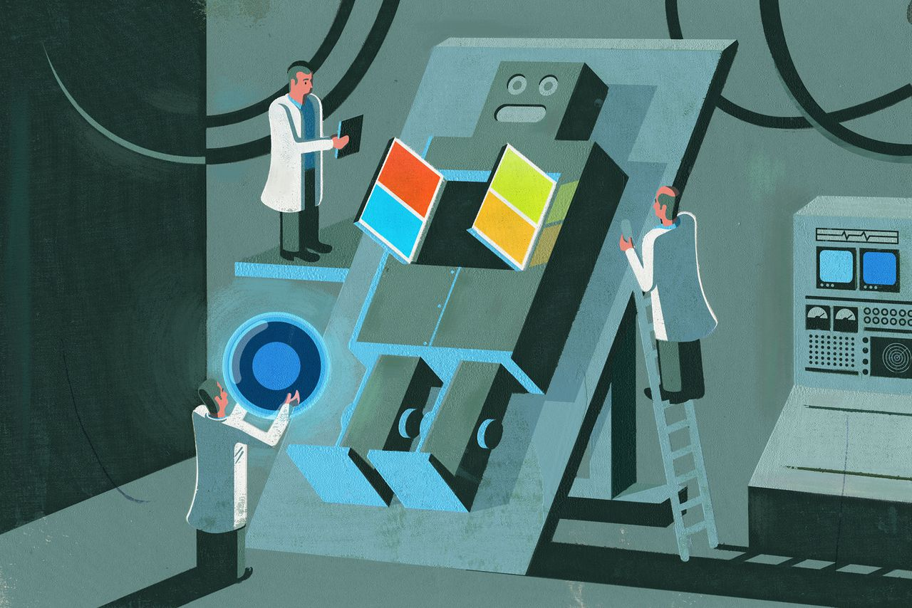 Internet Culture Libros Exclusive: Why Microsoft Is Betting Its Future On Ai | The