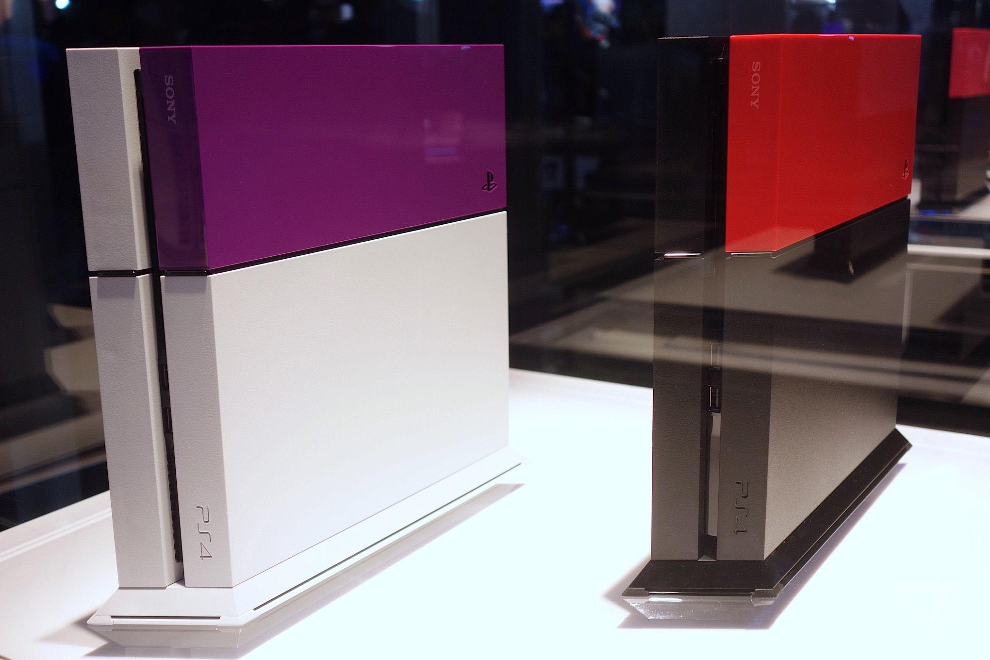 Hard Disk Esterni Ps4 Sony 39s Colorful Ps4 Hard Drive Covers Look Pretty Neat