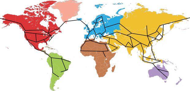 global hvdc grid