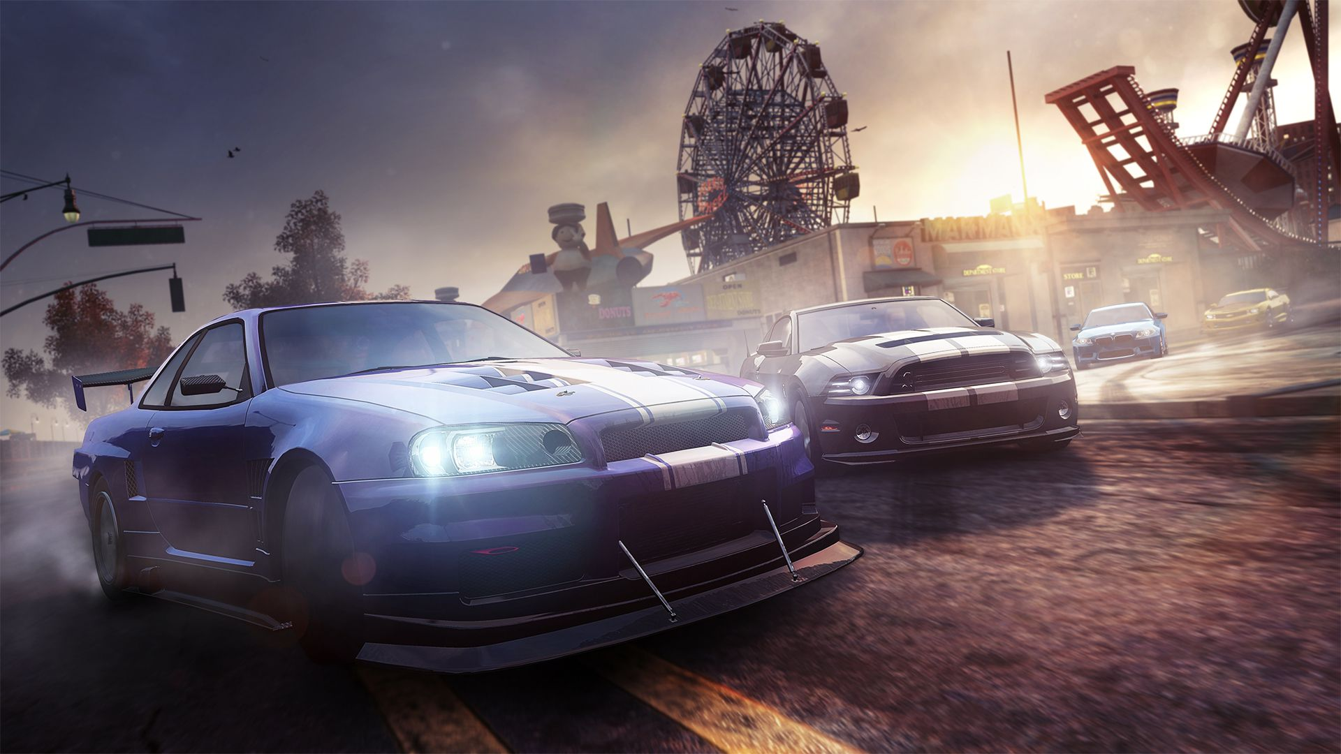 Hd Tune Up Cars Wallpaper The Crew Review Road To Ruin Polygon