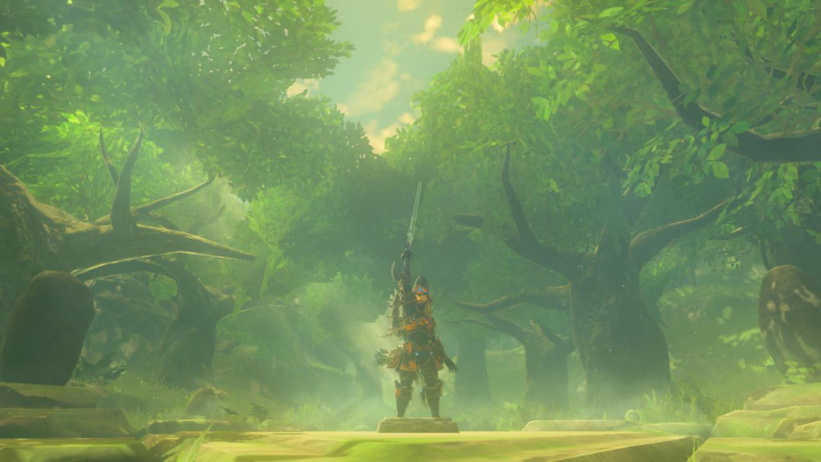 The Legend Of Zelda Hd Wallpaper Zelda Breath Of The Wild Is Playable At 4k On The Pc