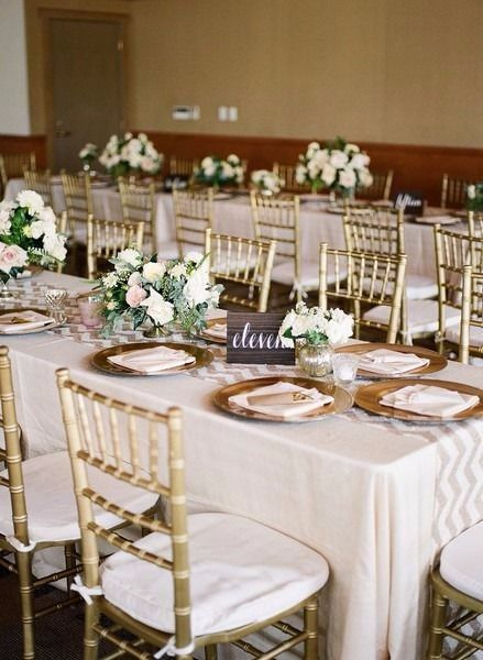 Pick One! Round or Rectangular Tables? - Plan a wedding - Forum
