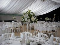 Marquee in a farm shed! from Devon Tableware Hire | Photos