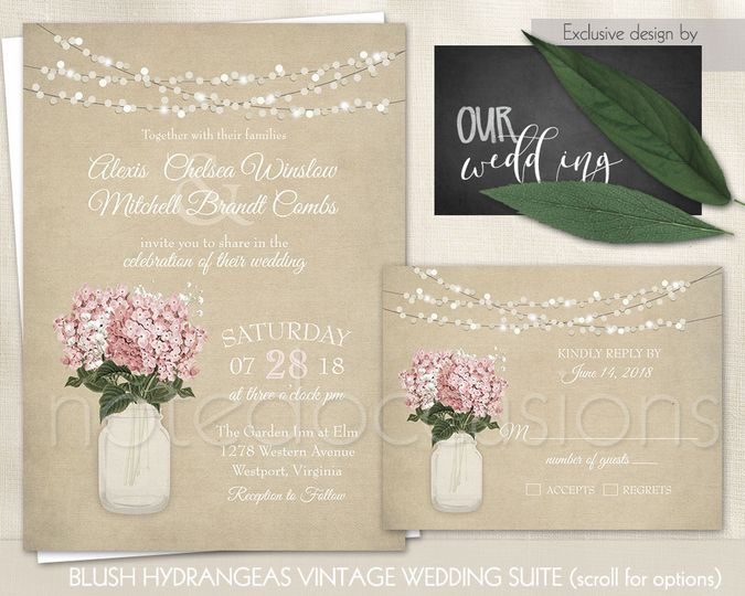 Noted Occasions Wedding Invitation Designs - Invitations - Friday