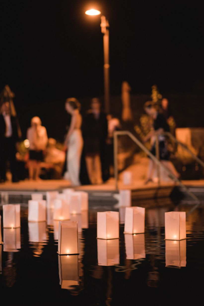 Romantic Pool Ideas 20 Romantic Wedding Lighting Ideas To Make You Swoon Weddingwire