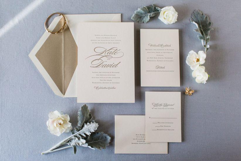 Wedding Invitation Wording Decoded! - WeddingWire