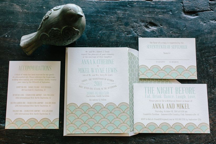 How to Word Hotel Room Block Information on Wedding Invitations