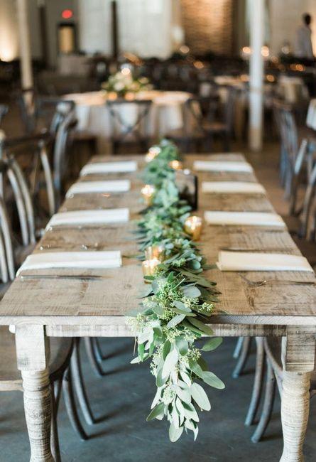 Garland Table Runners Weddings, Do It Yourself Wedding Forums