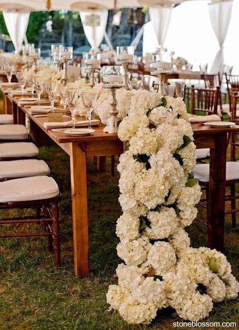 Floral Table Runners Weddings, Planning Wedding Forums WeddingWire