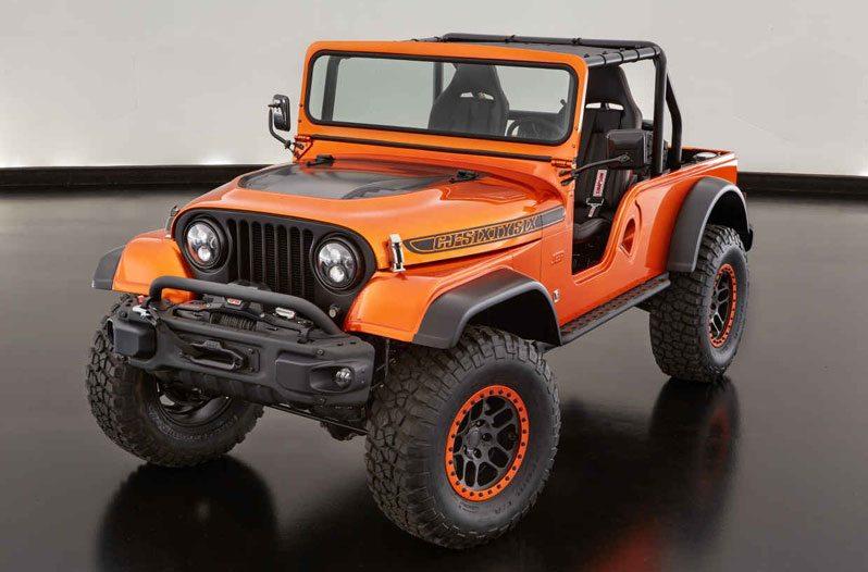 Jeep Rolls out Retro CJ66 Concept to Celebrate 50th Birthday