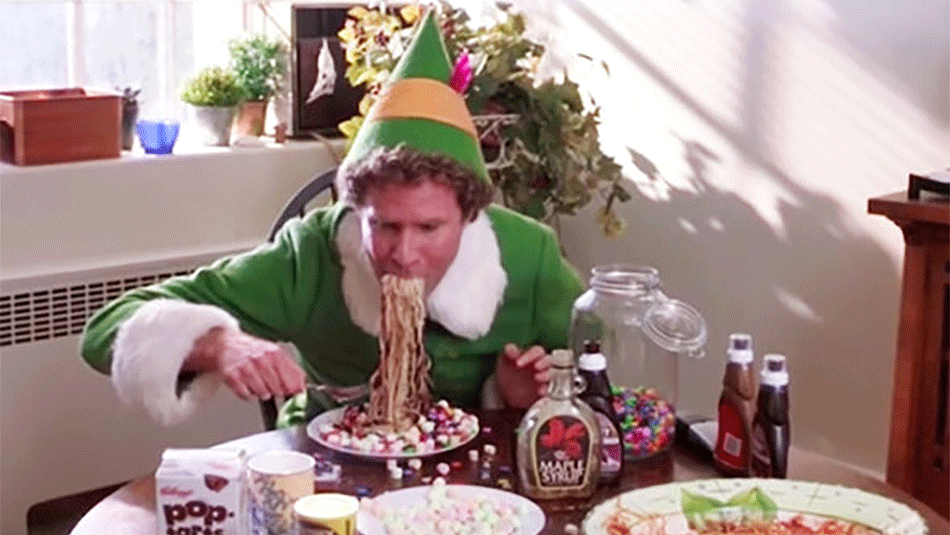 How To Make Buddy The Elf39s Dessert Pasta It39s Kinda Gross