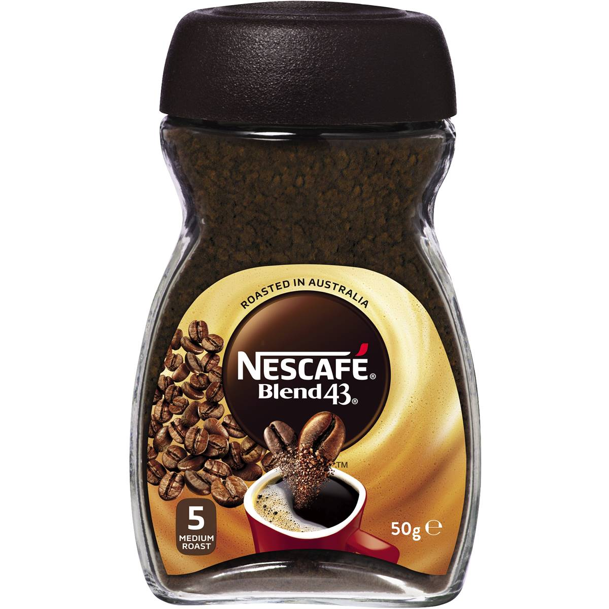 Nescafe Instant Arabica Coffee Nescafe Blend 43 Instant Coffee Coffee 50g Woolworths