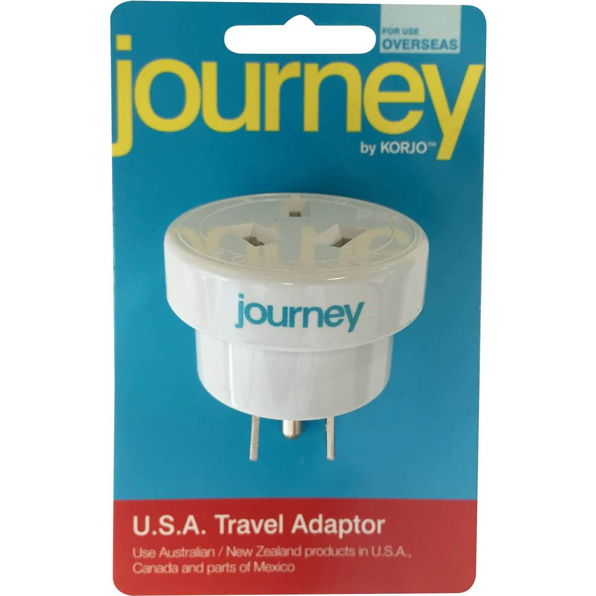 Coles Travel Adaptor Korjo Journey Usa Adaptor Each Woolworths
