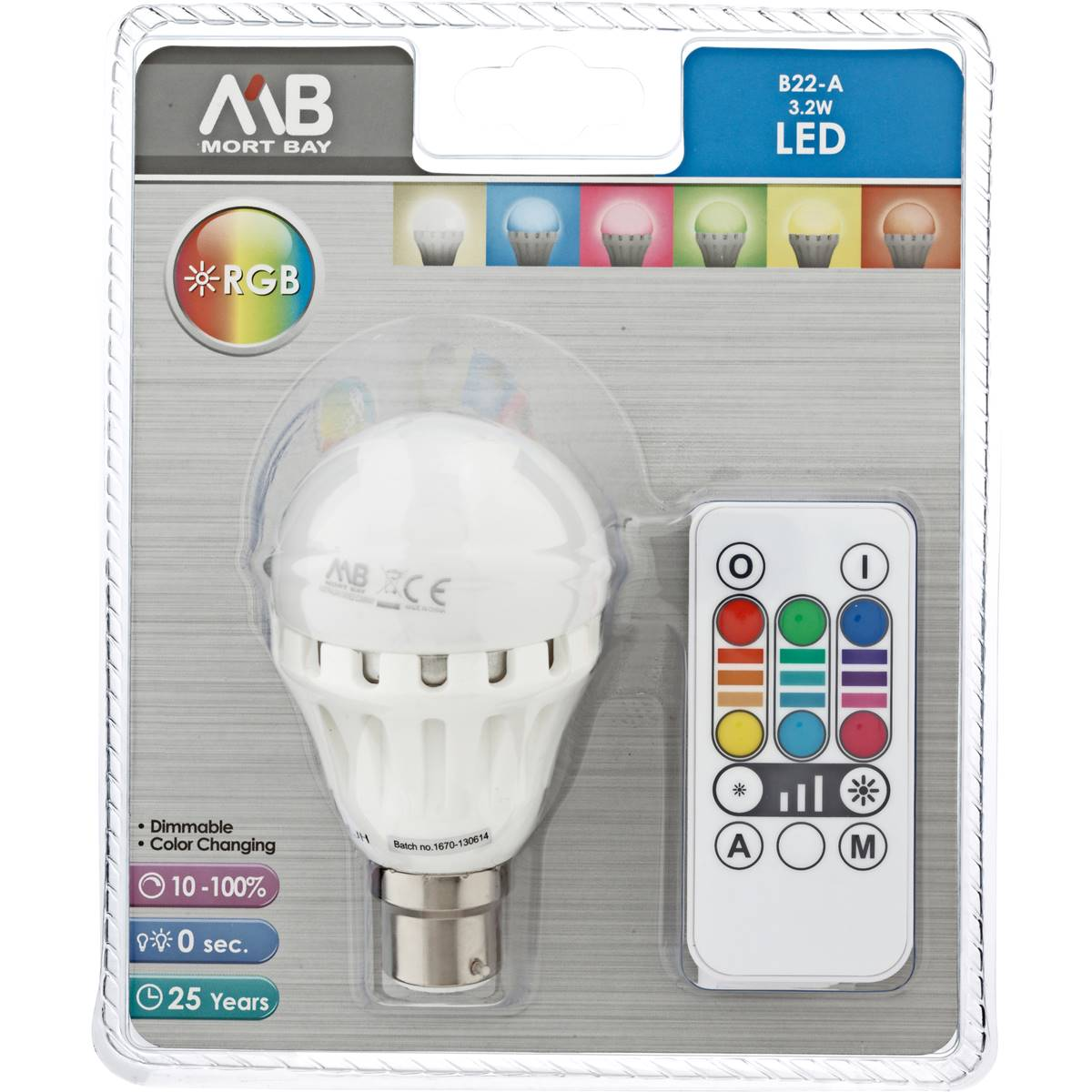 Woolworths Led Globes Mb Globe Rgb Colour Changing Led B22 3w Each Woolworths