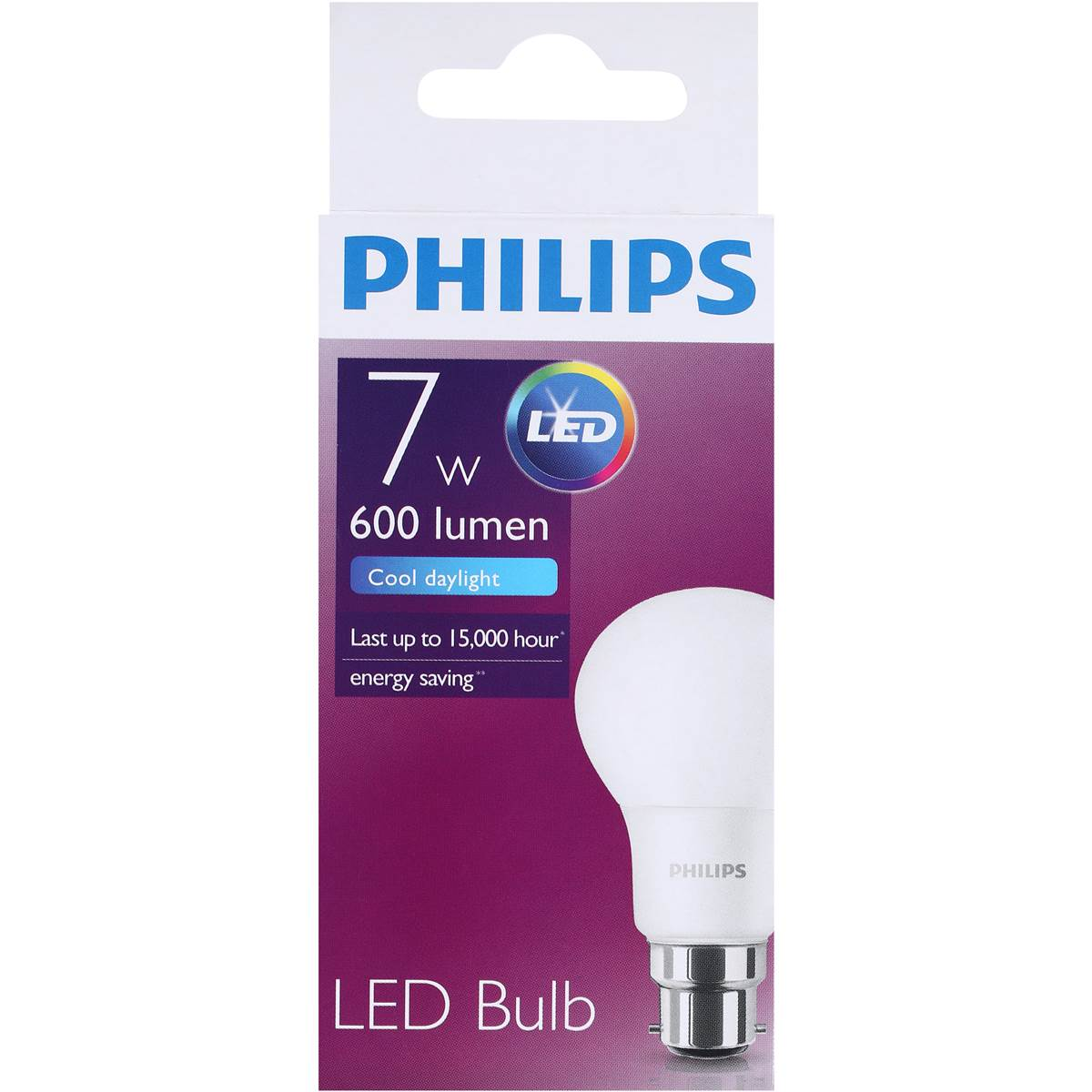 Woolworths Led Globes Philips Led Globe Cool Daylight 600 Lumen Bc Base Each