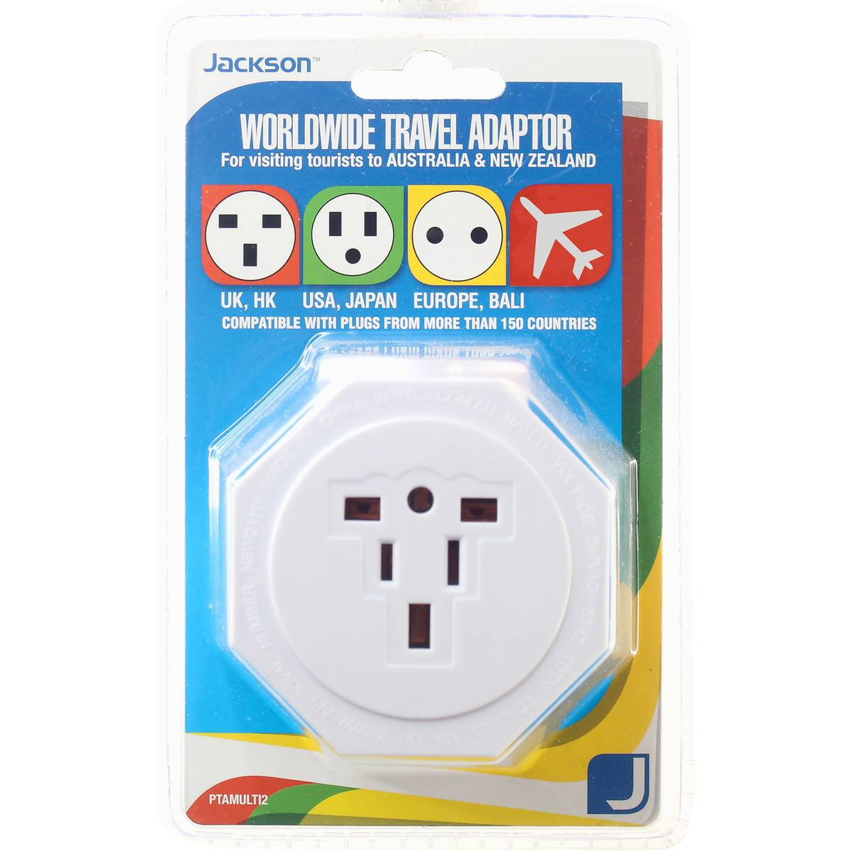 Coles Travel Adaptor Jackson Inbound Travel Adaptor Suits Usa And Uk Europe Each