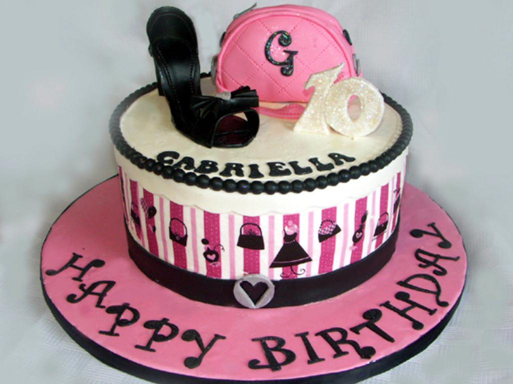Cozy Birthday Cake Ideas Girl 10 10 Year Old Nail Birthday Cake