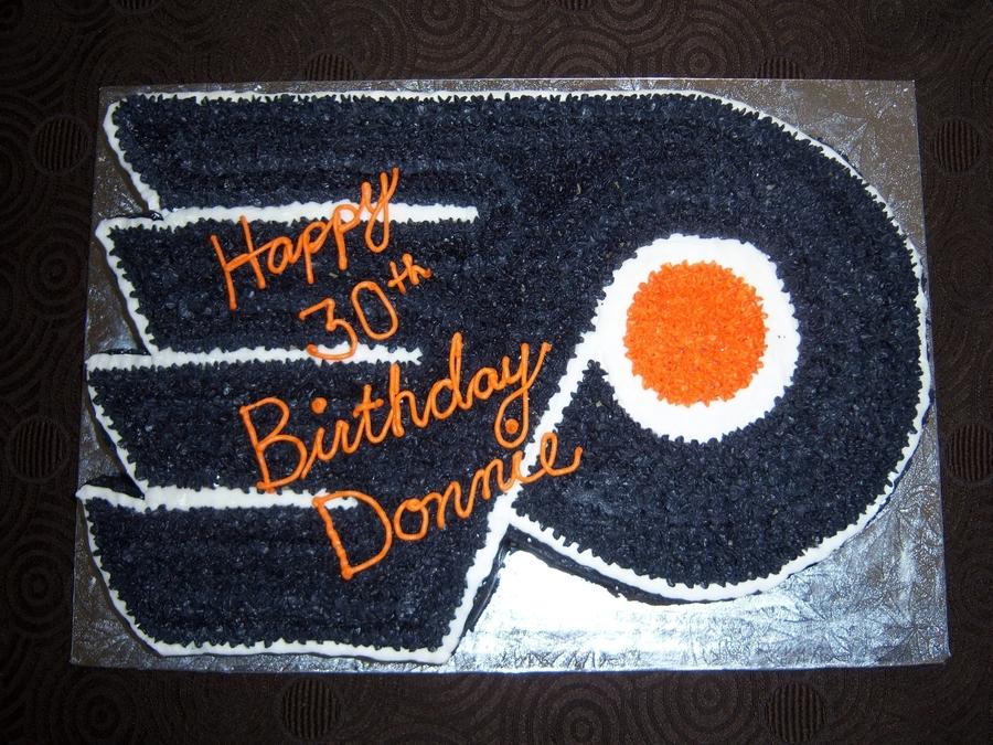 Flyers Cake - Cake By Tracyu0027s Custom Cakery LLC