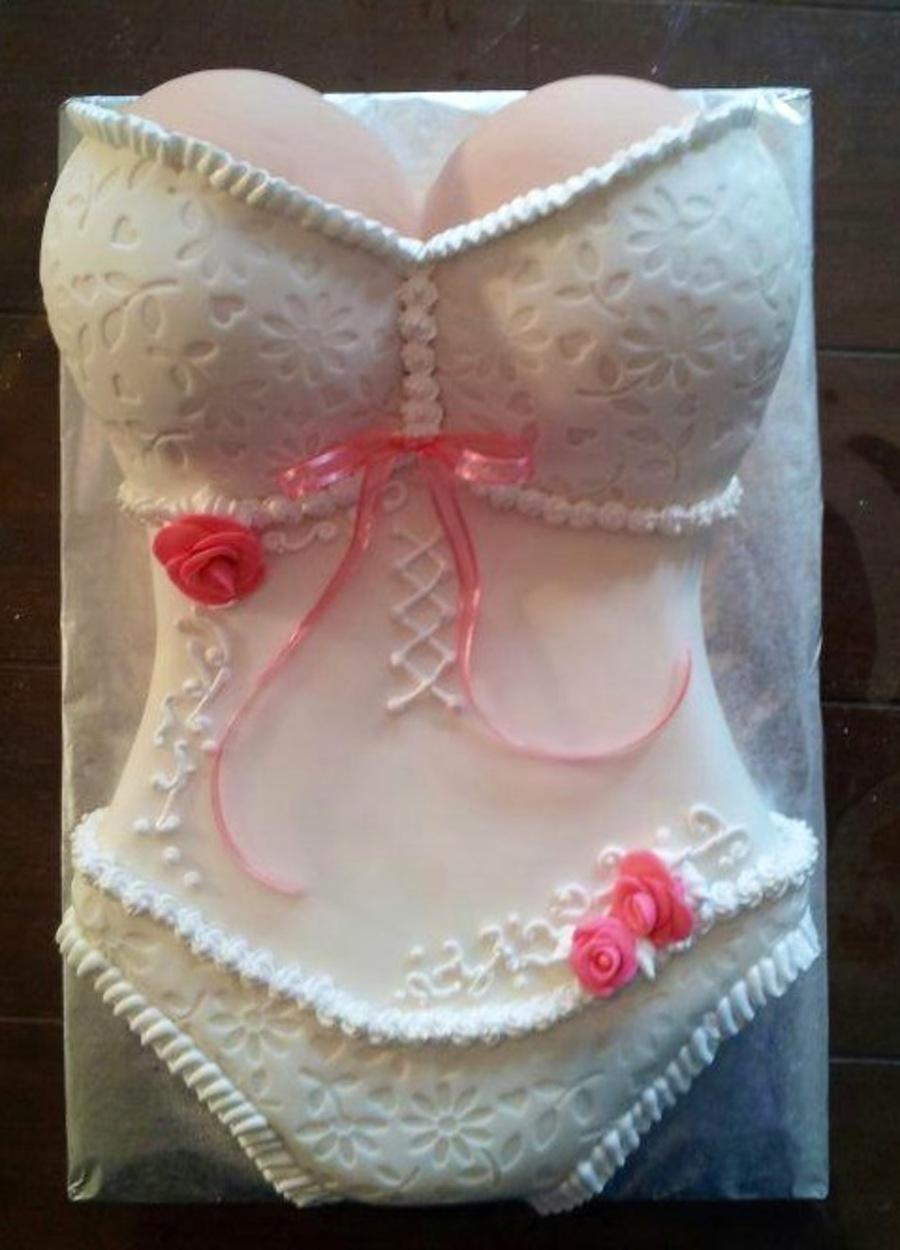 Fullsize Of Bridal Shower Cake
