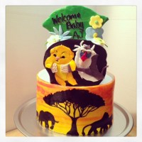 Lion King Themed Baby Shower - CakeCentral.com