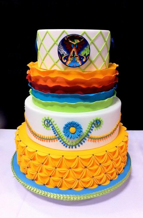 Medium Of Mexican Wedding Cakes